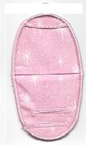 Stars Sparkling on Pink for Plastic Frames