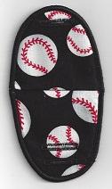 Baseballs on Black
