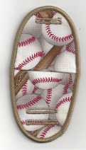 Baseballs on beige