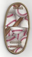 Baseballs on beige