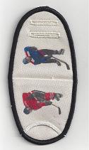 Hockey Player on Beige