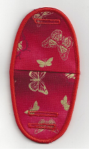 Large and small butterflies on Red – GN17
